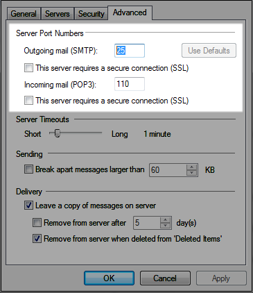 Problems Sending Mail - Receiving is Fine - Knowledgebase - Host Max